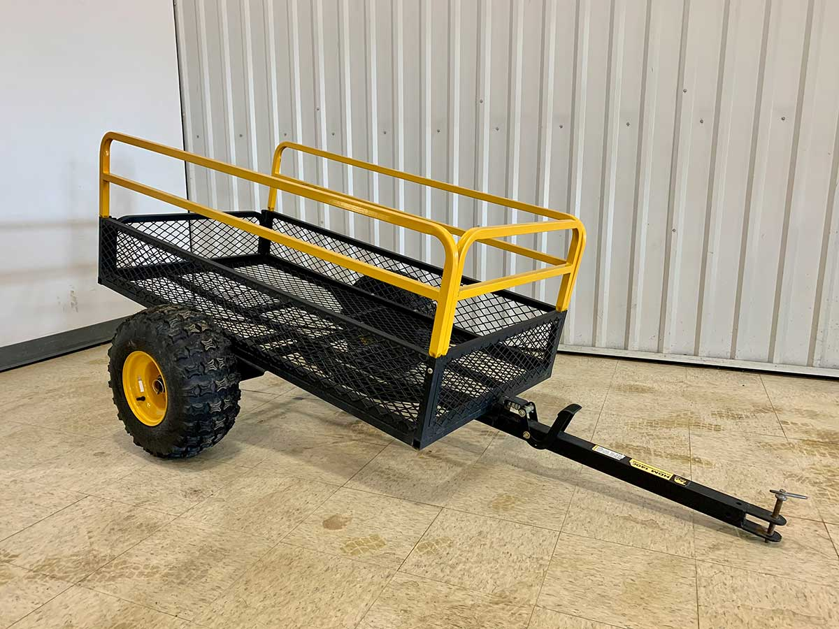 Rent from Colorado Golf & Turf - Fleet medal pull along trailer cart
